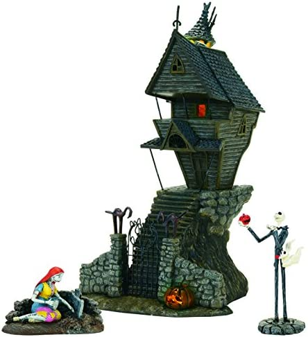 Department 56 Nightmare Before Christmas – Jack Skellington s House St 3