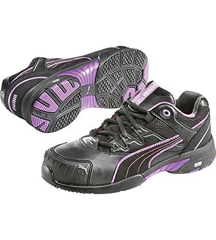 Puma Safety Shoes Stepper Wns Low S2 HRO SRC, Puma 642880