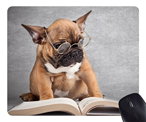 Belkin Mouse Pad Dog Reading Dogs Animals Customized Non-Slip Mousepad Gaming Mouse Pad - Pad Reading