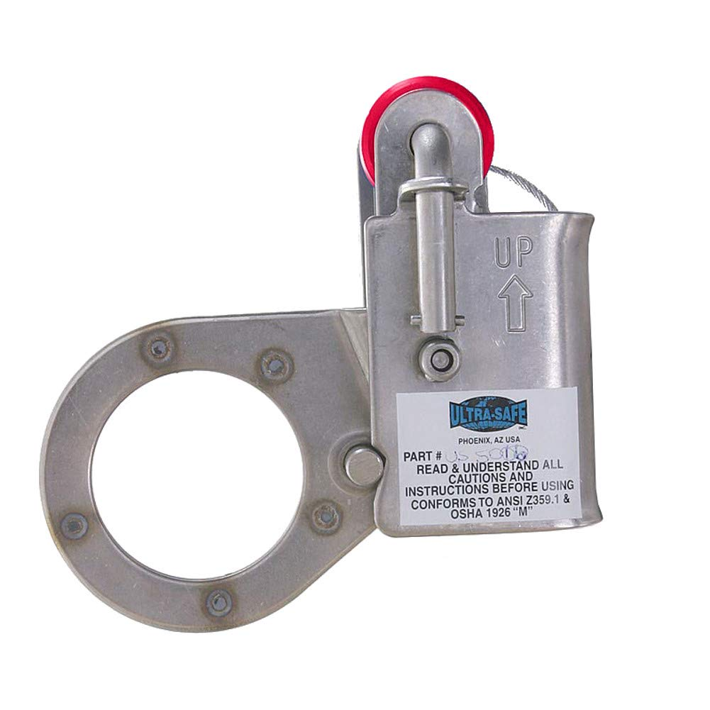 5/8'' & 3/4'' Stainless Steel Safety Rope Grab by Ultra Safe, Inc.