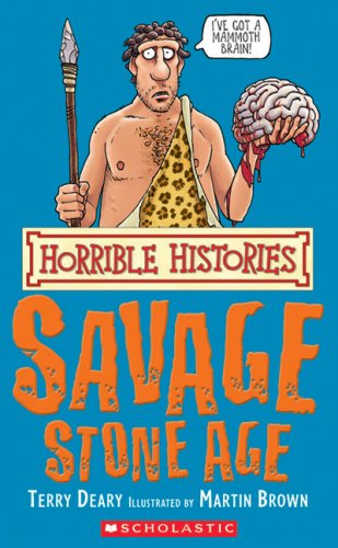 Book cover for Horrible Histories: Savage Stone Age