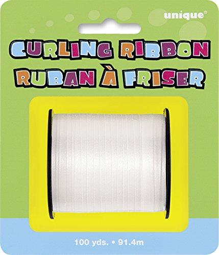 Curling Ribbon, 100yd, White
