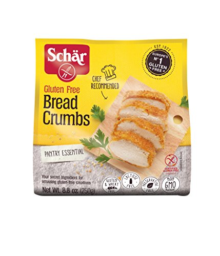 Schar Gluten Free Bread Crumbs - Net Wt. 8.8 oz. (Chicken Parmesan Bread Crumbs)