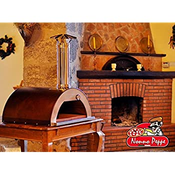 Amazon Com Outdoor Pizza Oven Wood Fired Insulated W