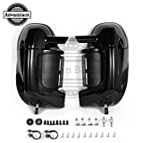 Vivid/Glossy Black Pre-Rushmore Lower Vented Fairings Kit Body...