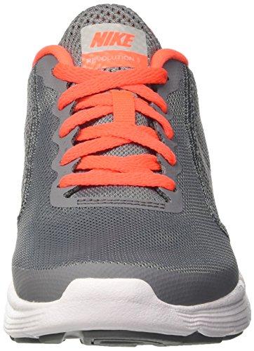 purchase cheap 5affe 2b7ab release date gris silver grey grey gymnastique fille matte gs nike 3 de dark  cool revolution