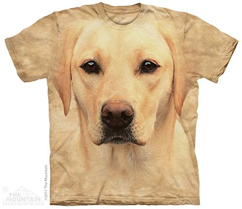 Yellow Lab Portrait T-Shirt Size XXXL