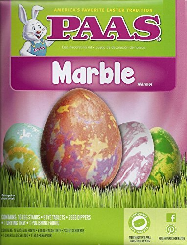 PAAS Marble Egg Dying Kit