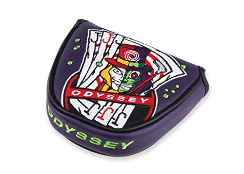 Odyssey 2018 No Three Jacks Mallet Headcover Purple - Odyssey Covers Putter