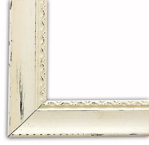 Amazon.com - Antique White Picture Frame-Solid Wood, 16x20 - Single ...