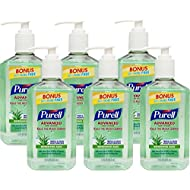 Purell Advanced Instant Hand Sanitizer, Refreshing Aloe, 12 Ounce, (Pack of 6)