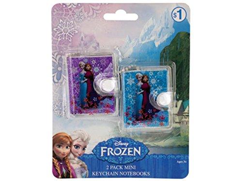 Disney Frozen Mini Keychain Notebooks Set - Pack of - Mini Frozen Notebooks