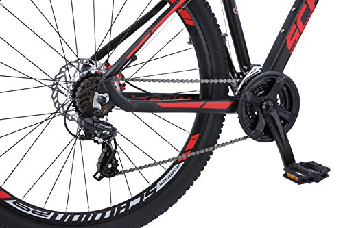 Schwinn Bonafide Mountain Bike, 29-Inch Wheels, Matte Black