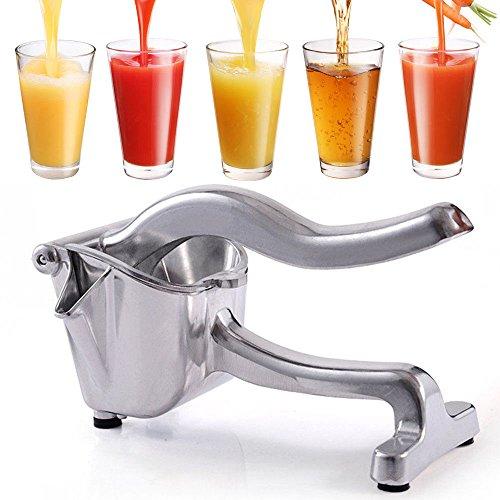 Kitchen Detachable Aluminium Lemon Squeezer Fruit Hand Press Fruit Juicer Bar Tool Manual Citrus Press Juicer