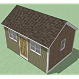 12x18 Shed Plans - How to Build Guide - Step by Step - Garden/Utility / Storage