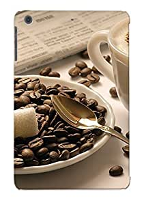 Design For Ipad Mini/mini 2 Premium Tpu Case Cover Morning Coffee Protective Case