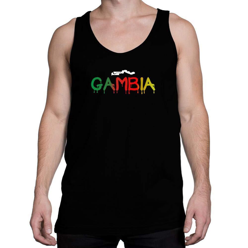 Idakoos Dripping Gambia Tank Top