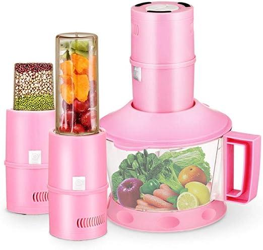 KUAIF Batidora Eléctrica Robot de Cocina Cocina Batidora Amasadora Repostería Picadora de jugos: Amazon.es