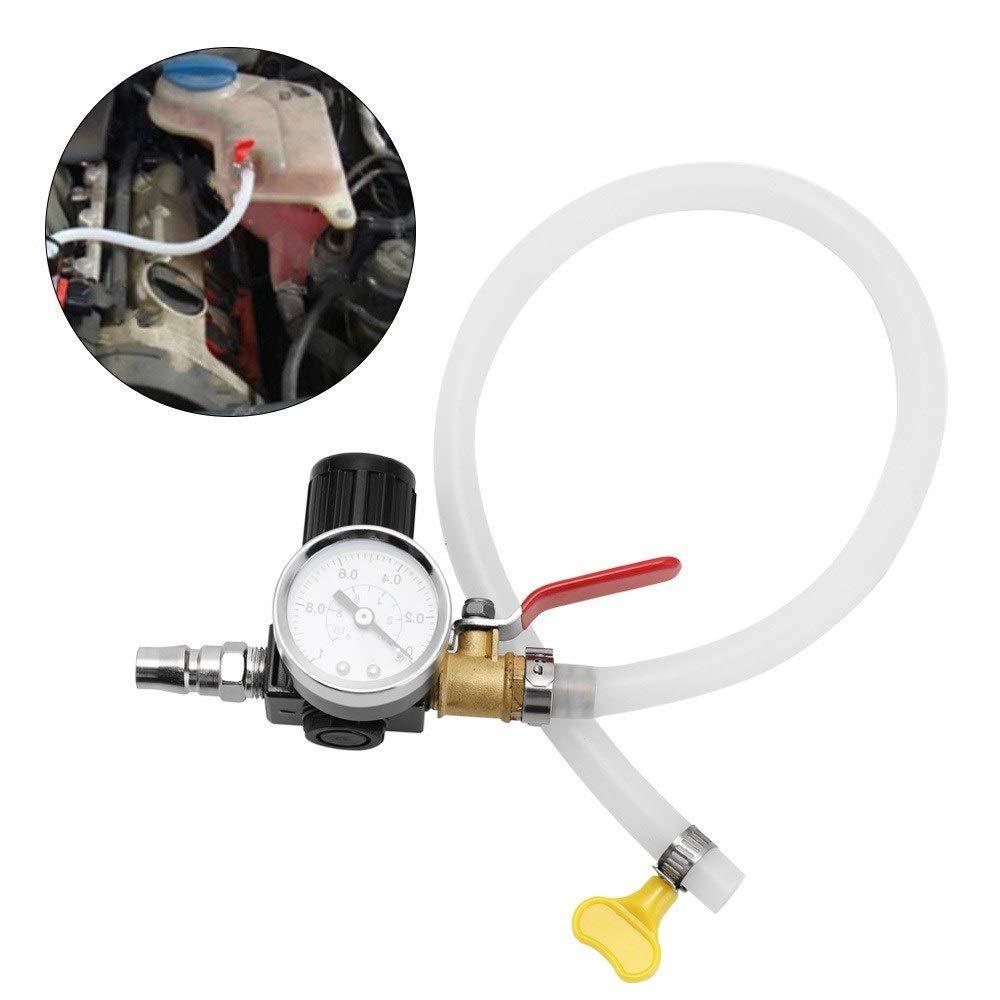 Probador de coches Herramienta de poder del agua de refrigeraci/ón del detector Comprobador Tester de presi/ón del radiador del coche universal profesional adecuado for la mayor/ía de tipo de coche
