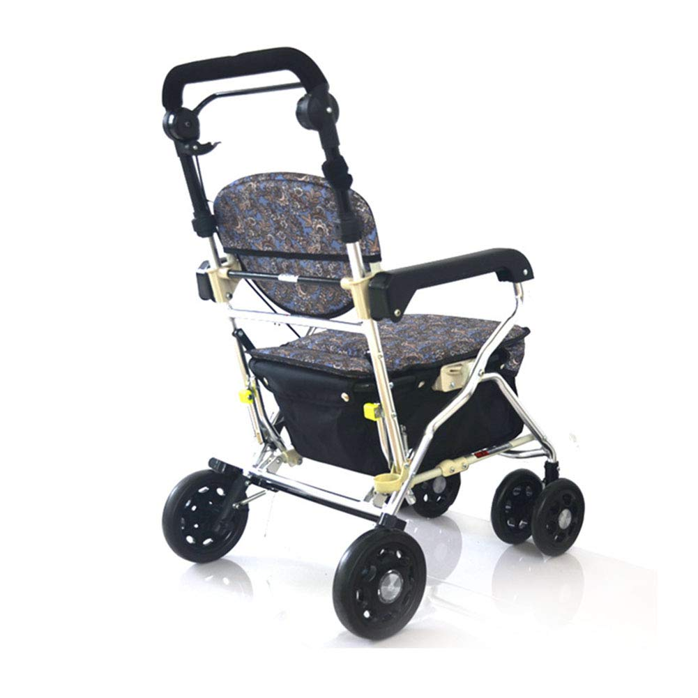 SXRL Andador de Aluminio con para Ancianos, Ergonómicas ...