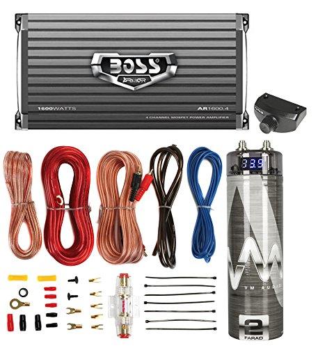 AR1600 4 1600W Amplifier Remote Capacitor