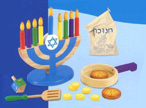 Hanukkah Wood Toy Set