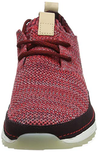 red Native Tri Mujer Zapatillas Para Clarks Rojo A86xYvqqw