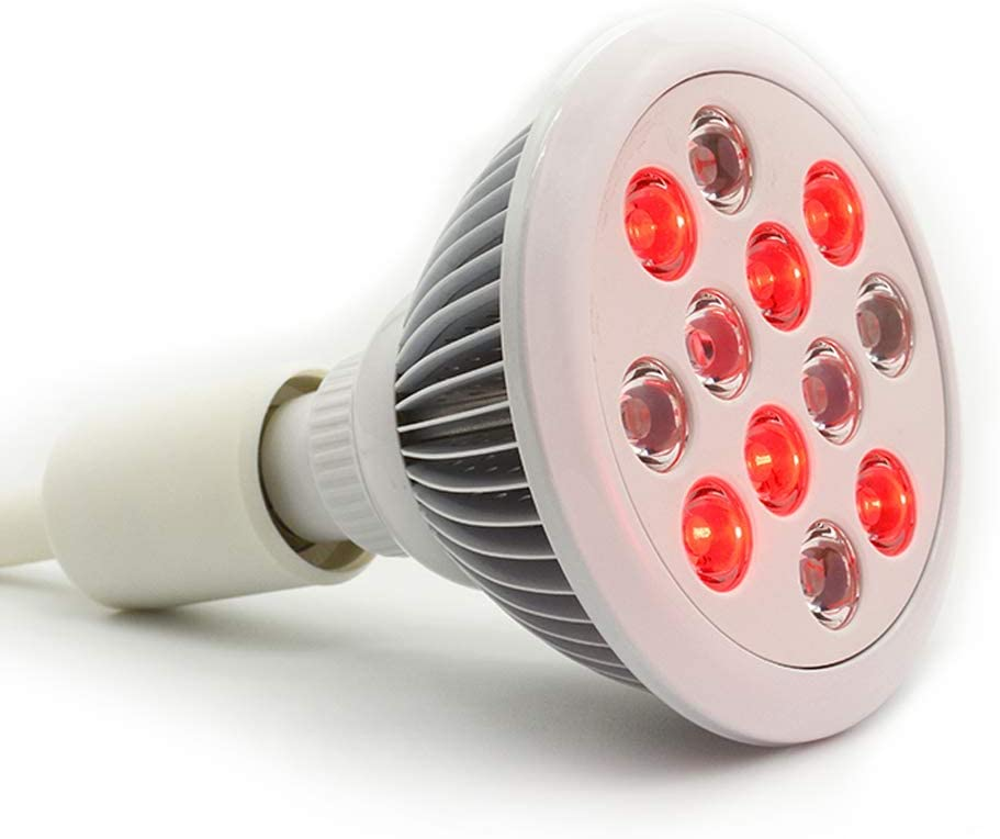 36w Led Red Light Therapy Bulbs Near Infrared Therapy Muscle Joint Pain Relief Recovery Skin Rejuvenation Medically Approved Health Product Skin Care Hair Growth
