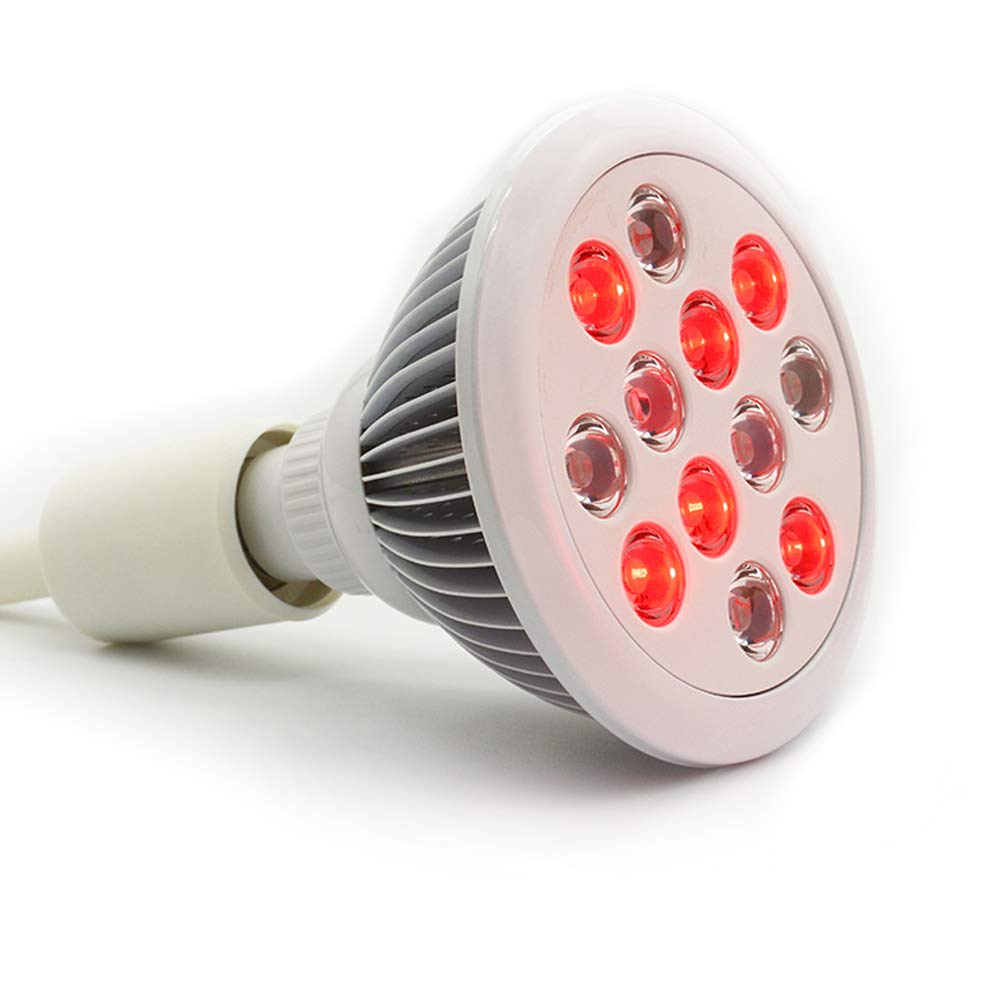 36w Led Red Light Therapy Bulbs/Near Infrared Therapy/Muscle & Joint Pain Relief & Recovery/Skin Rejuvenation/Medically Approved/Health Product/Skin Care/Hair Growth ...