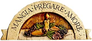product image for Italian Wall Plaque, Mangia, Pregare, Amore (Eat Pray Love)