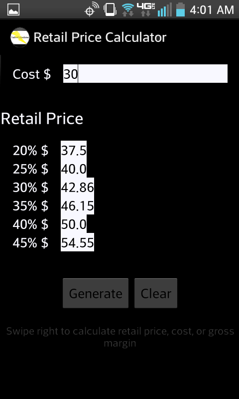 Amazon com: Retail Price Calculator: Appstore for Android