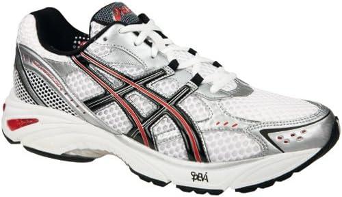 Porcentaje tobillo Solo haz  Asics Gel Fortitude 4 (2E) White T0D0 N0190 Size: 46,5 [Textilien]:  Amazon.de: Schuhe & Handtaschen