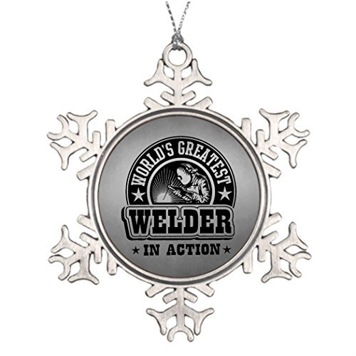 Athena Bacon Ideas for Decorating Christmas Trees World's Greatest Welder in Action Office Decor ()
