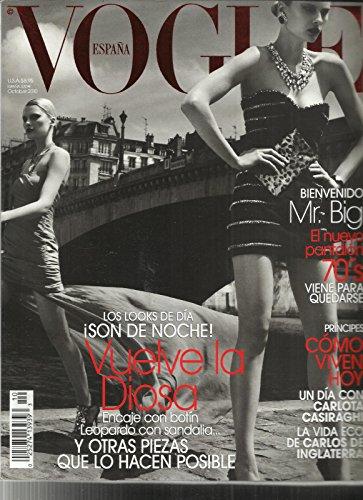 VOGUE, ESPANA EDITION, OCTOBER, 2010 NO. 271 LOS LOOKS DE DIA ISON DE NOCHE by Generic