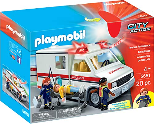Playmobil 5555 Rescue Ambulance Toy 5681 from Playmobil