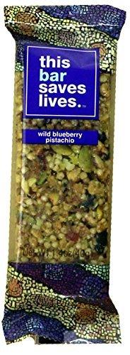 This Bar Saves Lives Wild Blueberry Pistachio, 1.4 oz