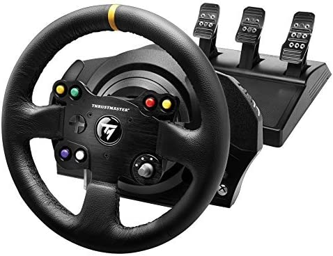 Thrustmaster VG TX Racing Wheel Leather Edition Premium Official ...