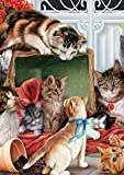 Best Toland Home Garden Christmas Decorations - Toland Home Garden Christmas Kitties 28 x 40 Review