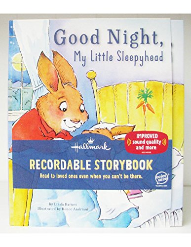 hallmark-kob8128-good-night-my-little-sleepyhead-recordable-storybook