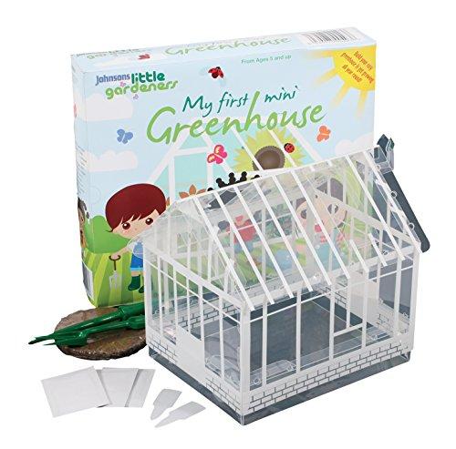 Johnsons 21801 Little Gardeners 'My First Mini Greenhouse' - Multi-Colour