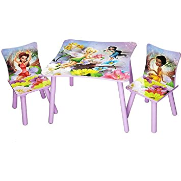 Disney   TinkerBell Fairies Table And Chair Set