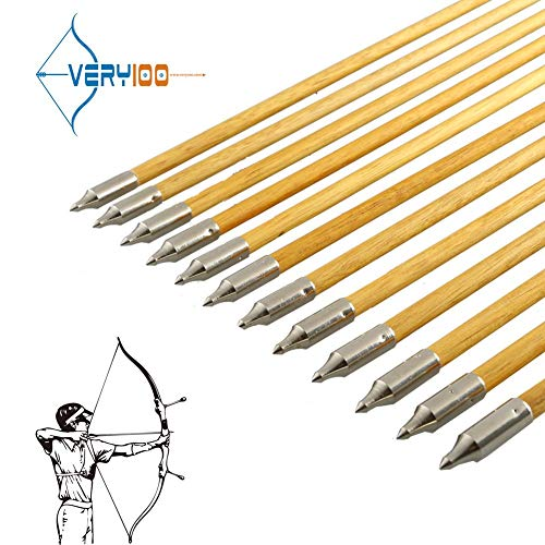 12X Aluminum Arrow 6.2mm Inserts Base for Archery Arrows Practice JT
