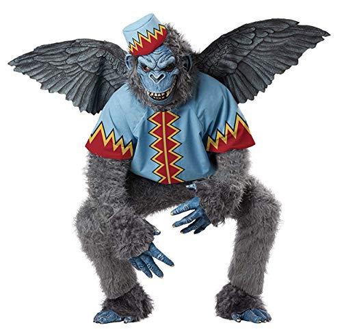 Scary Winged Monkey Costumes Small Siz - California's Costume Evil Winged Monkey/Adult