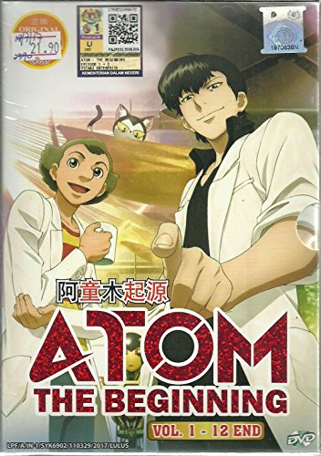 ATOM THE BEGINNING - COMPLETE ANIME TV SERIES DVD BOX SET (12 EPISODES)