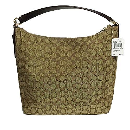 89941bd99c Coach Outline Signature Celeste Hobo Shoulder Crossbody Bag Purse Handbag