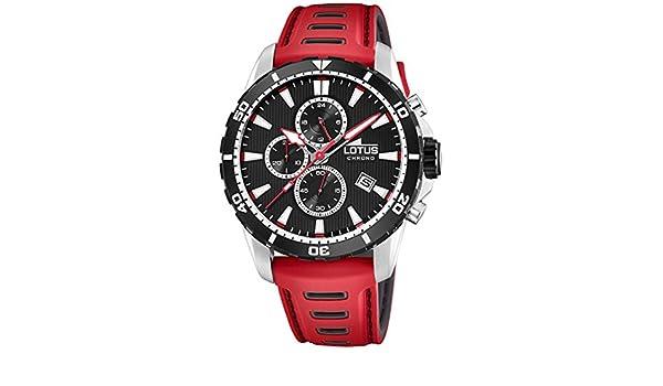 19c1a72a71ae Reloj Lotus Color cronógrafo Caballero 18600 4  Amazon.es  Relojes