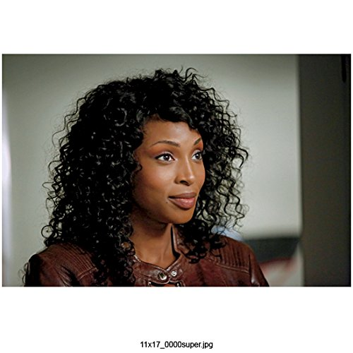 Supernatural (TV Series 2005 – ) 8 inch by 10 inch PHOTOGRAPH Lisa Berry from Shoulders Up Brown Leather Jacket kn