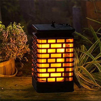 EOYIZW - Farol solar para exteriores con 99 luces LED para colgar en el jardín, impermeable, luz LED parpadeante para patio, patio, camino, 2 unidades: Amazon.es: Iluminación