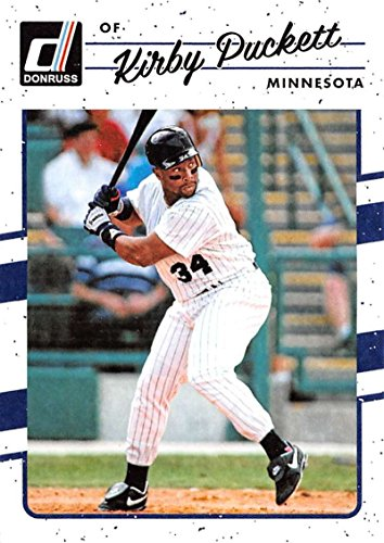 2017 Donruss #184 Kirby Puckett Minnesota Twins Baseball Card (Kirby Puckett Minnesota Twins Baseball)