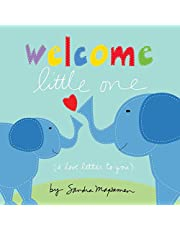 Welcome Little One: Shower Your Little One with Love with this Special Board Book for Newborns (elephant books, baby gifts to send new parents) (Welcome Little One Baby Gift Collection)